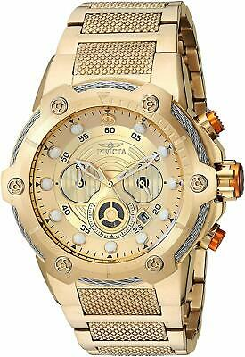 Invicta 27115 Star Wars Men's 51.5mm Chronograph Gold-Tone Gold Dial Watch