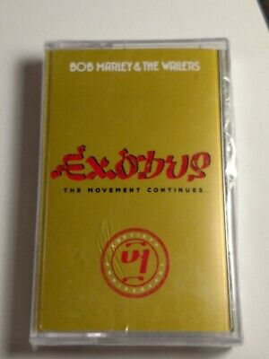 BOB MARLEY AND THE WAILERS EXODUS CASSETTE TAPE 40th Anniversary 2017 SEALED