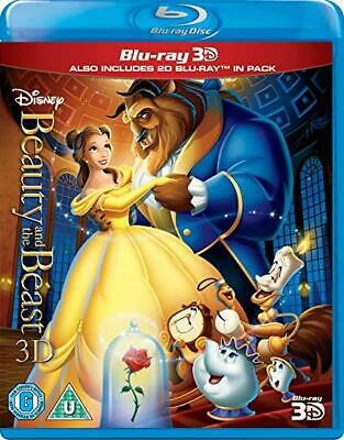 Blu-Ray 3D Beauty And The Beast + 2D Combo Set Disney's