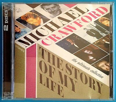 MICHAEL CRAWFORD: Story of My Life-Ultimate Collection 2CD Best of/Greatest Hits