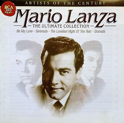 MARIO LANZA Artists of the Century ULTIMATE COLLECTION 2CD Best of/Greatest Hits