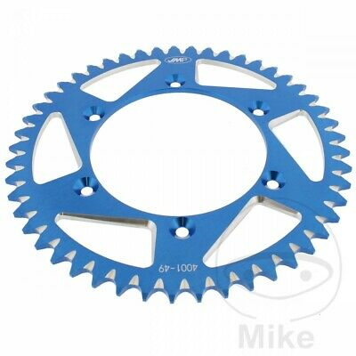 JMP Blue Aluminium Rear Sprocket (49 Teeth) Yamaha WR 250 X 2014