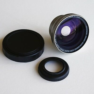RAYNOX DVR-5000 super wide angle 0.5x lens converter - very good condition