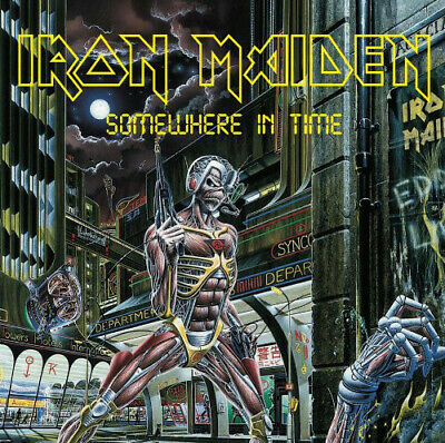 Iron Maiden - Somewhere In Time (CD, Album, Enh, RM)