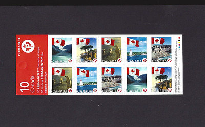 Canada   # BK341       FLAGS OVER CANADA     2006    # 2193a   Post Office Fresh