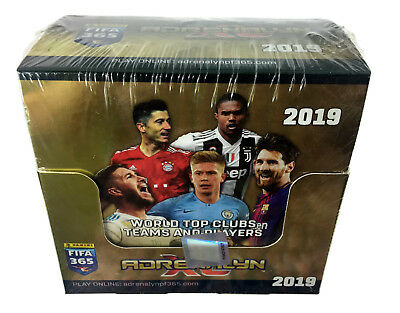 2019 Panini Adrenalyn XL FIFA 365 BOX 50 boosters PACKS new sealed + LIMITED