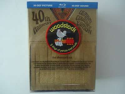 Woodstock: Three Days of Peace & Music (Blu-ray  Director's Cut 40th) Amazon