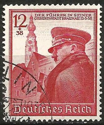 Germany (Third Reich) 1939 Used - 50th Birthday Hitler (Braunau) Mi 691 SG 679
