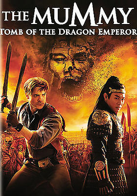 The Mummy: Tomb of the Dragon Emperor (DVD, 2008), Very Good Condition