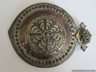 Extremely rare big Turkish Ottoman silver buckle late 18th, early 19th century!