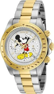 Invicta 25193 Disney Limited Edition Men's 39.5mm Chronograph Two-Tone Watch