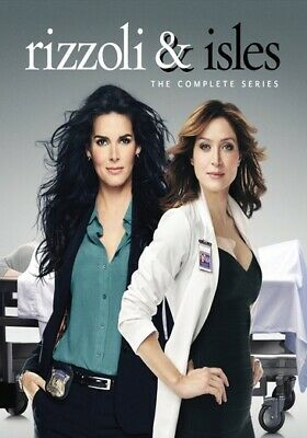 Rizzoli & Isles: The Complete Series (DVD,2017) (ward630587d)