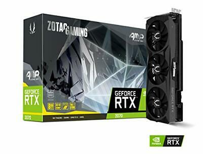 Zotac GeForce RTX 2070 Graphic Card - 1.82 GHz Boost Clock - 8 GB GDDR6 - Triple