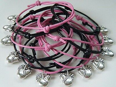 6 hen party bracelets gifts hen do hen night favours accessories Bride *CHOOSE*