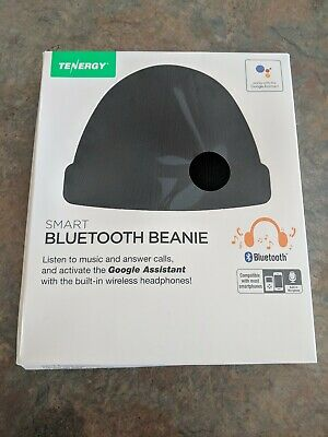 f3836ce292e Tenergy Smart Bluetooth Beanie- built in wireless headphones! Brand new in  box!