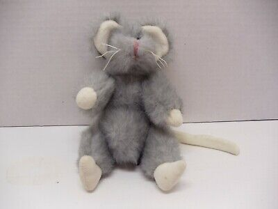 Ty Attic Treasures SQUEAKY 1993 Gray Mouse 7