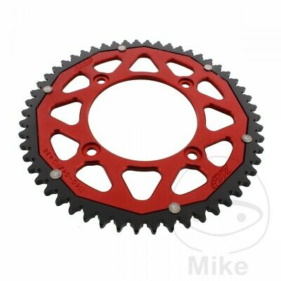 ZF Dual Red Rear Sprocket (54 Teeth) Beta RR 125 LC Enduro 2013-2014