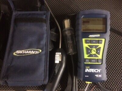 Used Bacharach Fyrite Intech Portable Combusttion Gas Analyzer