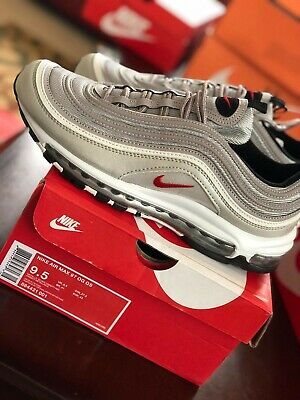 pretty nice f08b6 dcaa7 NIKE AIR MAX 97 OG QS Silver Bullet Size 9.5