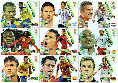 2014 Panini Adrenalyn XL FIFA World Cup Brasil * LIMITED EDITION *