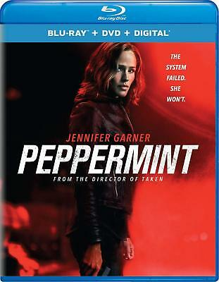 Peppermint NEW BLU-RAY + DVD DTS-HD Jennifer Garner Method Man John Gallagher Jr