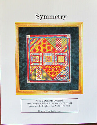 Needle Delights Originals Symmetry Counted Needlepoint Chart/Pattern/Kit