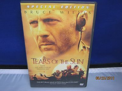 TEARS OF THE SUN Bruce Willis DVD Special Edition Super Fast Shipping+tracking