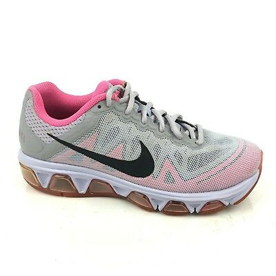 d9ded6790f Nike Womens Air Max Tailwind 7 Titanium Gray & Pink Pow Running Shoes Size 8
