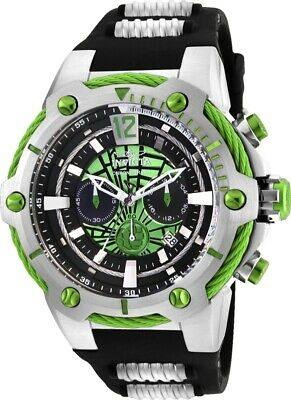 Invicta 25985 Marvel Men's 53mm Chronograph Stainless Steel Green Dial Watch