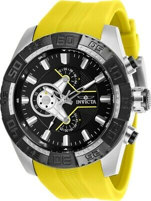 Invicta 25993 Pro Diver Men's 50mm Chronograph Stainless Steel Black Dial Watch
