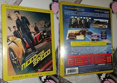 Need For Speed 3D - Steelbook Blu-Ray FR - Neuf