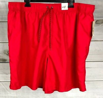 945d4a6f6e OP Mens Swim Trunks Size 2XL Red Shorts Lined Swimwear Ocean Pacific NWT  A5701