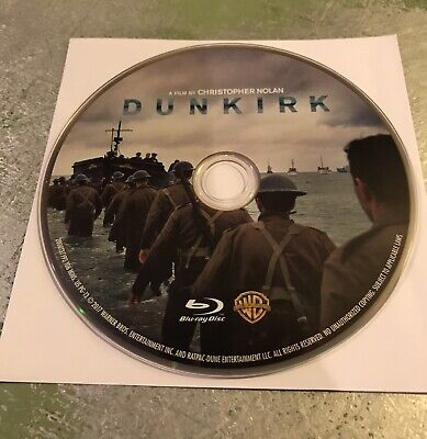 Dunkirk (Blu-ray Disc ONLY, 2017) Free Shipping