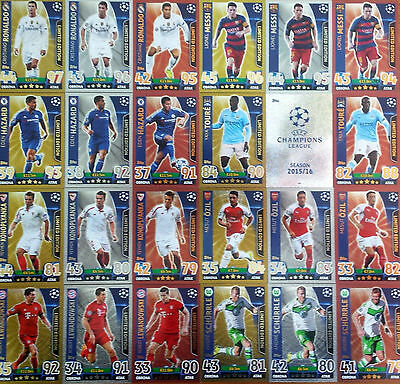 2015 2016 Topps Champions League * LIMITED EDITION * 100 CLUB * POLISH EDITION