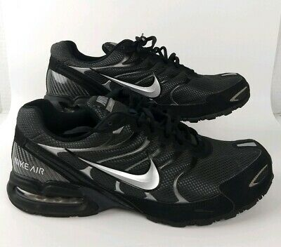 9d93f682e8 Nike Air Max Torch 4 Men's Running Shoes 343846-002 Size 13 Black/Silver