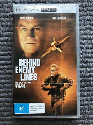 UMD VIDEO for PSP - Behind Enemy Lines | AUS PAL | Good Condition! AUS SELLER ✨