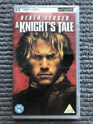 UMD VIDEO for PSP - A Knight's Tale | PAL | Good Condition! AUS SELLER ✨