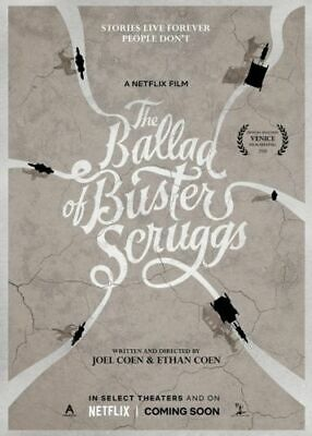 The Ballad of Buster Scruggs 2018 Movie Ethan Coen Joel 18x12 36x24 Hot Poster