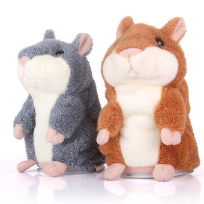 Talking Hamster Mouse Pet Plush Toy Cute Speak Sound Record Children Gift Mystic