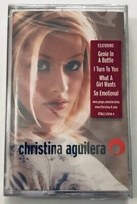 Christina Aguilera Cassette Tape - Self-titled (1999)