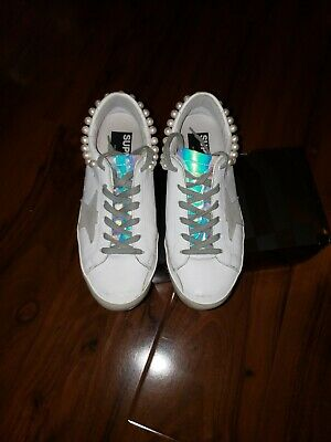 95217121ef6a Golden Goose Deluxe Brand Superstar Pearl Necklace Women Sneakers  G32WS590.G36