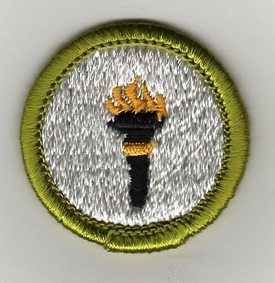 Public Health Merit Badge, Type H, Clear Plastic Back (1972-2002)