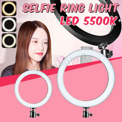 LED Studio Live Led Ring Light For Phone Selfie Light Beauty Photograph 5500K