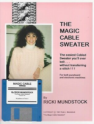 MAGIC CABLE SWEATER By Ricki Mundstock - Cables without Transferring!