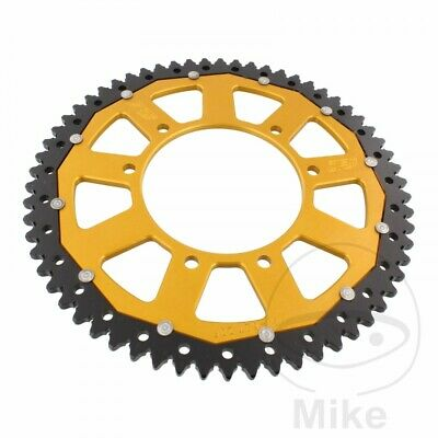 ZF Dual Gold Rear Sprocket (62 Teeth) Rieju RRX 50 2008-2009