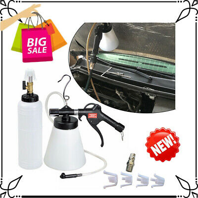 New!1L Pneumatic Clutch Bleeding Extractor Fill Bottle Air Brake Fluid Bleeder