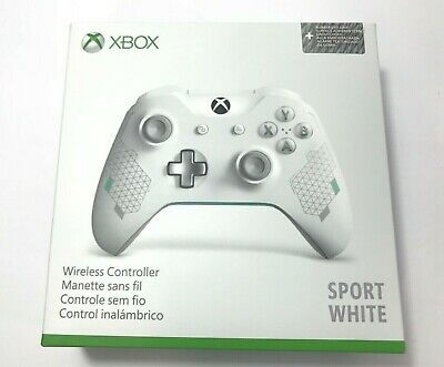 Microsoft XBOX ONE Wireless Controller - Sport White, NEW in Box, Ships Asap!
