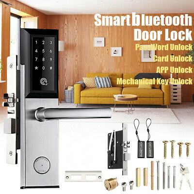 Smart Bluetooth Digitale App Tastatur Code Keyless Lock Elektronische Türschloss Passwort Keyless Türschloss Elektronische Mit Gateway
