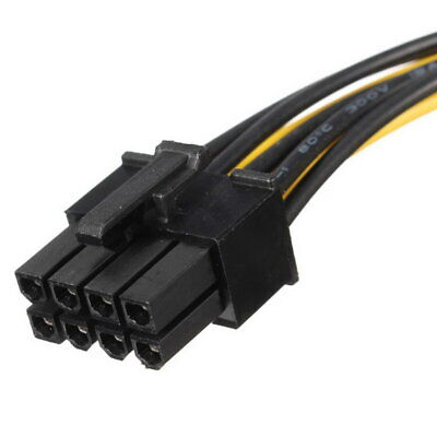 Power Converter Adapter Connector CableSNCHP to PCI-E Dual Molex 6 Pin 4 Pin