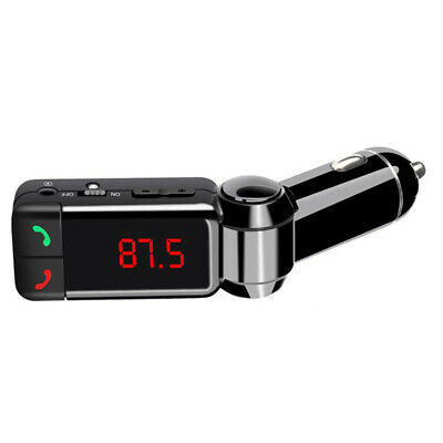 FM Transmitter Modulator Bluetooth Handsfree Adapter USB Charger AUX MP3 Player